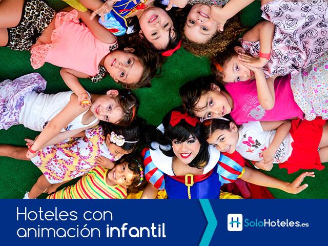Hoteles con animación infantil