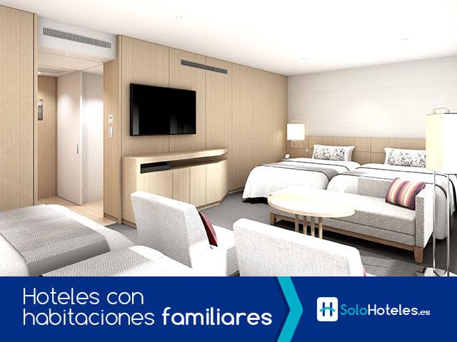 Hoteles con habitaciones familiares