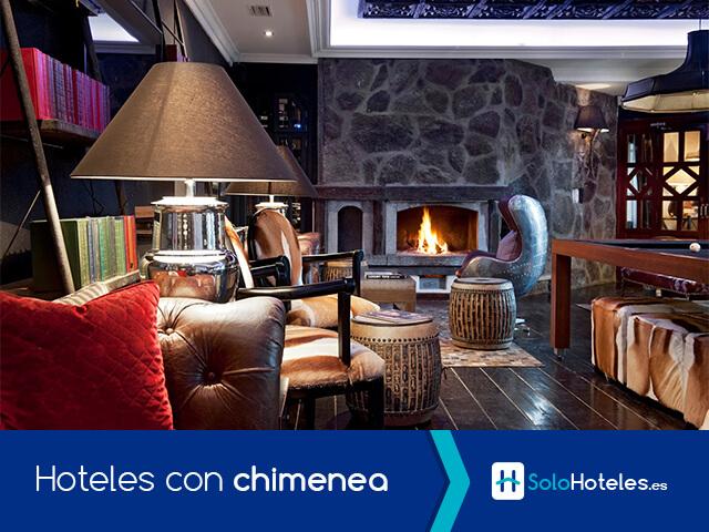 Hoteles con chimenea