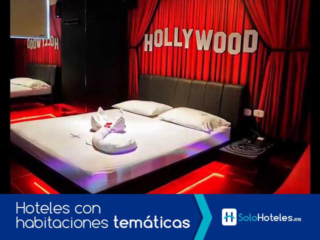 Hoteles con habitaciones temáticas